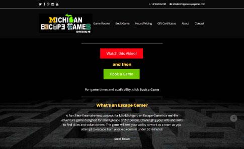 Michigan Escape Games