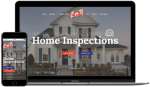 CMH Home Inspections Project - Web Design in Tallahassee, FL