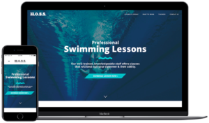 Hosford Swim School Project - Web Design in Tallahassee, FL