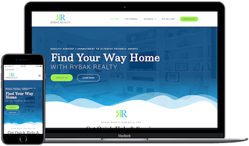 Rybak Realty Web Design in Tallahassee Florida Example Image