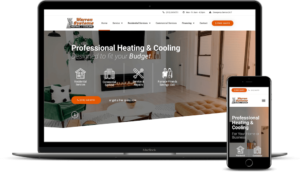 Heating and Cooling Web Design in Lapeer for Warren Systems